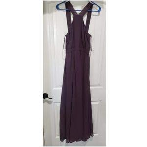 LuLu's Dusty Purple Maxi Dress